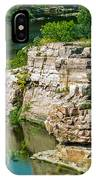 River Through The Rocks IPhone Case