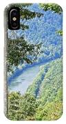 River Thru The Trees IPhone Case