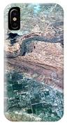River Town And Desert IPhone Case
