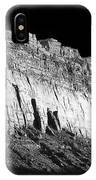 River Wall Bw IPhone Case