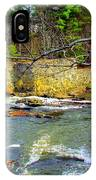 River Wall IPhone Case