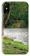 Riverside Picnic IPhone Case