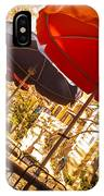 Riverwalk Umbrellas IPhone Case