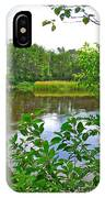 Rivier Du Nord In The Laurentians-qc IPhone Case