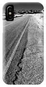 Road In The Desert #1 IPhone Case