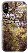Road Of Trees IPhone Case