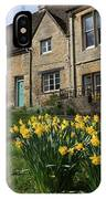 Road Side At Spring Time IPhone Case