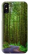 Road Through The Woods IPhone Case