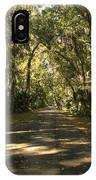 Road To The Enchanted Forest IPhone Case