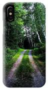 Road Trip- Back Country Road IPhone Case