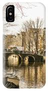 Roads Of Amsterdam IPhone Case