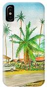 Roadside Food Stands Puerto Rico IPhone Case