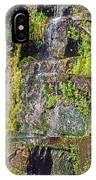 Roadside Waterfall. Mount Rainier National Park IPhone Case