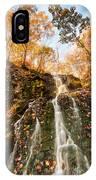Waterfall - Roaring Brook Autumnlands IPhone Case