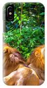 Roaring Lions IPhone Case