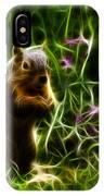 Robbie The Squirrel -0146 - F IPhone Case