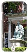 Robert Brooke Taney Statue - Maryland State House  IPhone Case