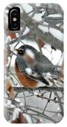 Robin In The Trees IPhone Case
