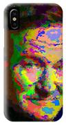 Robin Williams - Abstract IPhone Case