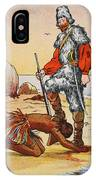 Robinson Crusoe And Friday IPhone Case