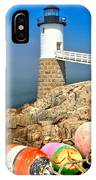 Robinson Point Lighthouse IPhone Case