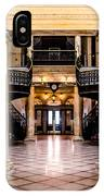 Rochester City Hall Main Hall IPhone Case