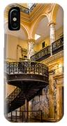 Rochester City Hall Stairs IPhone Case