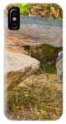 Rock Bench And Table IPhone Case