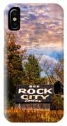 Rock City Barn IPhone Case