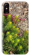 Rock Flower IPhone Case