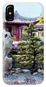 Rock Landscape Of The Dr. Sun Yat-sen Garden IPhone Case