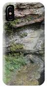 Rock Mill Water Fall In Ohio IPhone Case