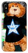 Rock Star Teddy Bear IPhone Case