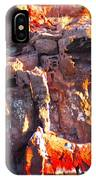 rock structure at Sea of Cortez IPhone Case
