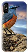 Rock Thrush IPhone Case