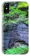 Rock Wall Trail Of The Cedars Glacier National Park Painted IPhone Case