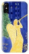 Rockefeller Angel IPhone Case
