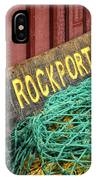 Rockport IPhone Case