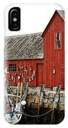 Rockport - Motif Number 1 IPhone Case