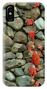 Rocks And Ivy IPhone Case