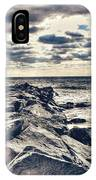 Rocks At Cape May IPhone Case