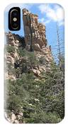 Rocks Reaching To The Sky IPhone Case