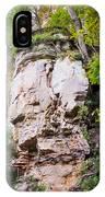 Rocky Cliff Wildcat Den Muscatine Ia 1 IPhone Case