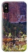Rocky Cliff - Zion IPhone Case