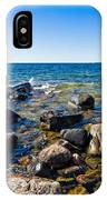 Rocky Cove At Lake Superior North Shore IPhone Case