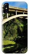 Rocky Creek Bridge IPhone Case