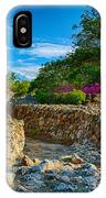 Rocky Garden Walk IPhone Case