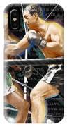Rocky Marciano V Jersey Joe Walcott Quotes IPhone Case