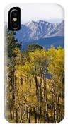 Rocky Mountain Autumn IPhone Case