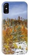 Rocky Mountain Autumn Storm IPhone Case